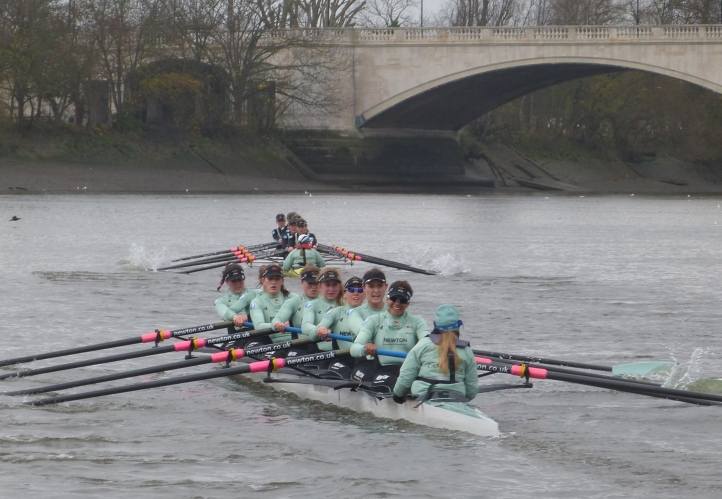 At the finish, Twickenham were four lengths ahead of Tideway.