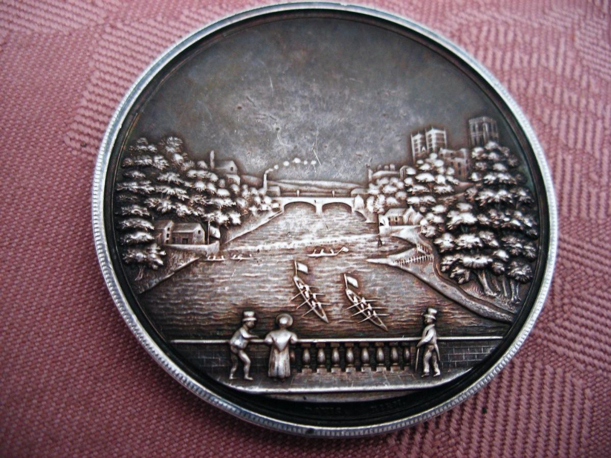 An 1875 Durham Regatta Medal