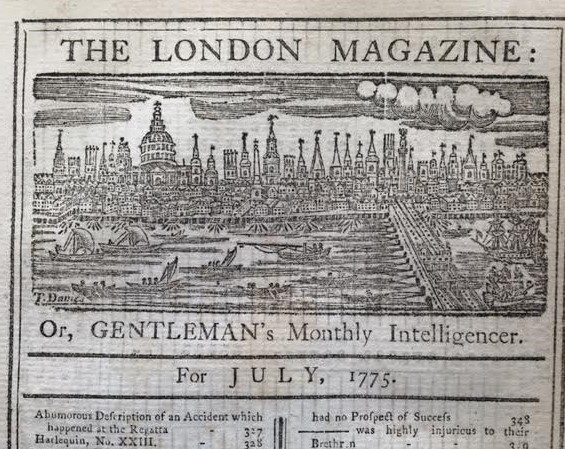1775 London Magazine masthead detail - image [B] II (2)