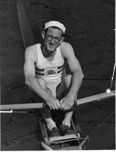 Among the first 15 images of famous scullers on HTBS's Instagram is Bert Bushnell, 1948 Olympic champion.