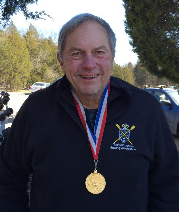 Bill Stowe. Photo: Nashville Jrs Rowing on Twitter.