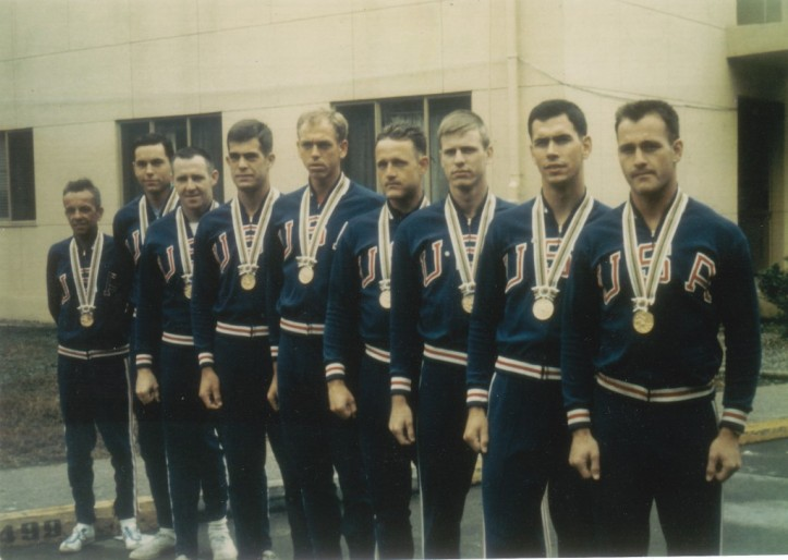 The Vesper BC's 1964 Olympic crew. Photo: USRowing.