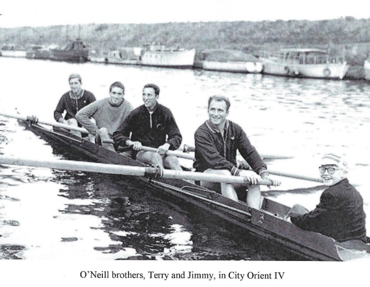 O'Neill brothers, Terry and Jimmy, in City Orient IV.