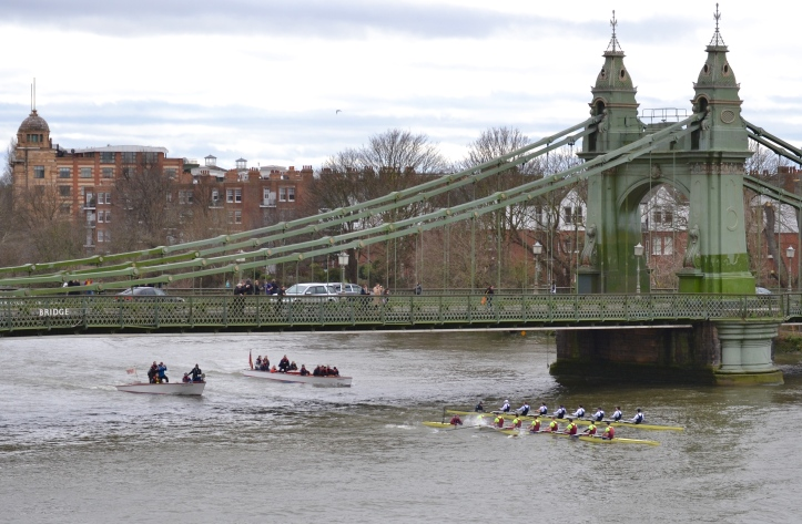 Pic 12. Oxford and Brooks at Hammersmith.