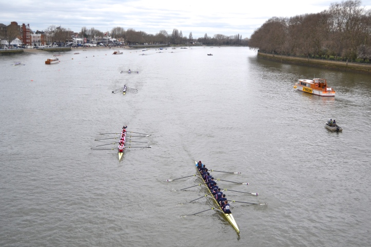 Pic 14. Ems-Jade-Weser from Germany is followed by Agecroft I and Molesey III.