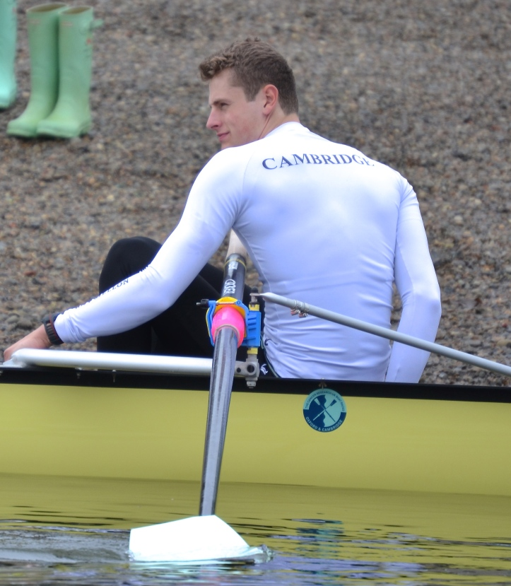 Pic 3. Charlie Fisher, number 3, took up rowing after deciding he wasn't good at other sports.