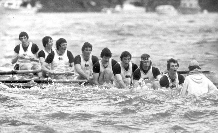 Cambridge 1978. M D Bathurst (Bow), S J Clegg, W M R Dawkins, C M Horton, R C Ross, A E Cooke-Yarborough, A N de M Jelfs, R N E Davies (Str), G Henderson (Cox).