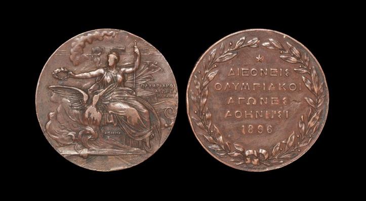 All participants received a commemorative medal (below)