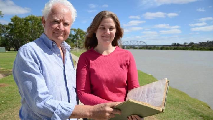 Filmmakers Wayne Groom and Carolyn Bilsborow. Photo: The Murray Valley Standard.