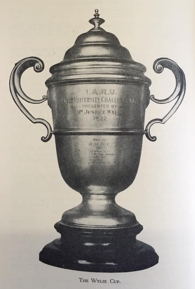 I.A.R.U. Inter University Challenge Cup – also known as 'The Wylie Cup'. Photo: History of Boat-Racing in Ireland (1939).