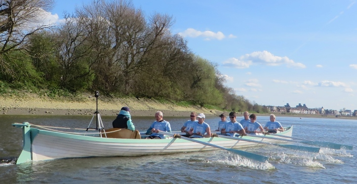Pic 10. The 'Cambridge Boat'.