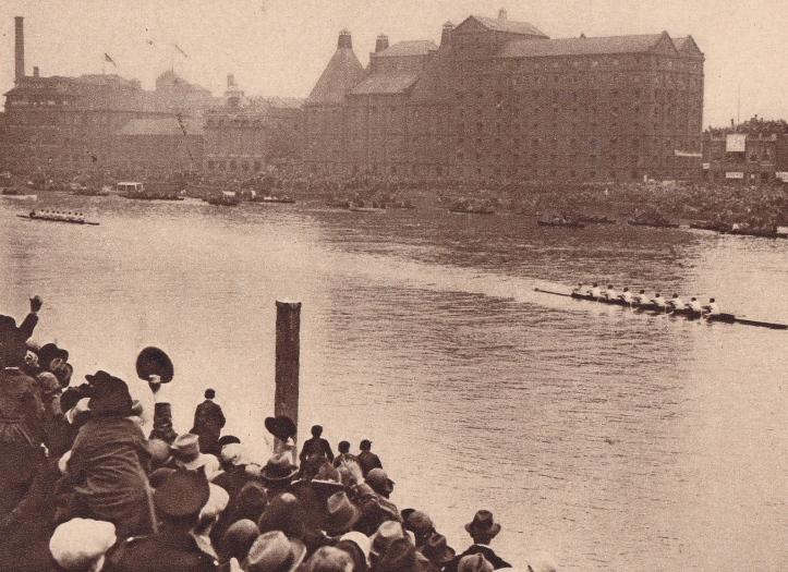 Pic 18. Cambridge beats Oxford, 1926.