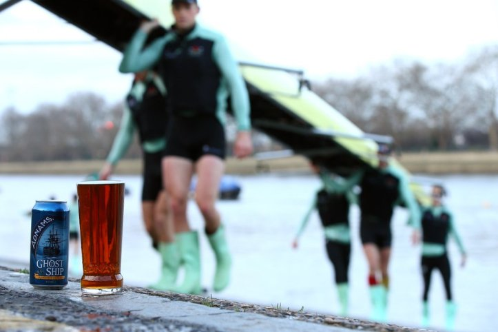 Pic 5. Brewer Adnams is the 'Official Beer Partner' of The Boat Races for the next six years. Picture: Adnams Southwold.