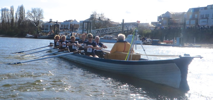 Pic 9. The 'Oxford Boat'.