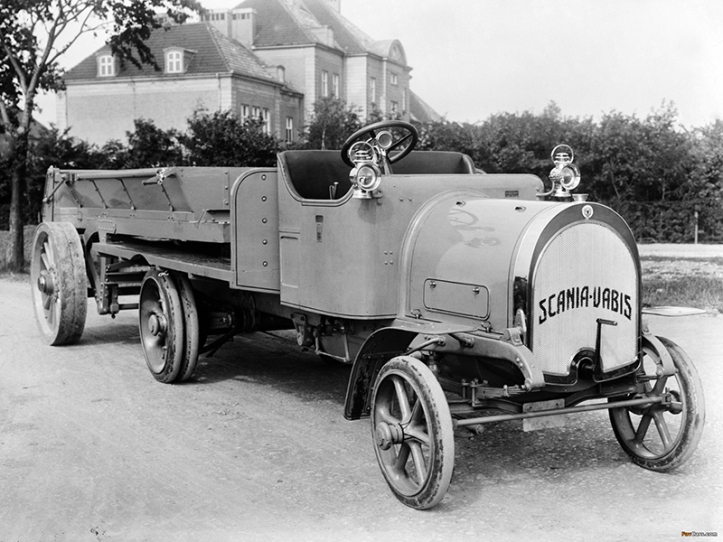 A Scania-Vabis truck from 1914.