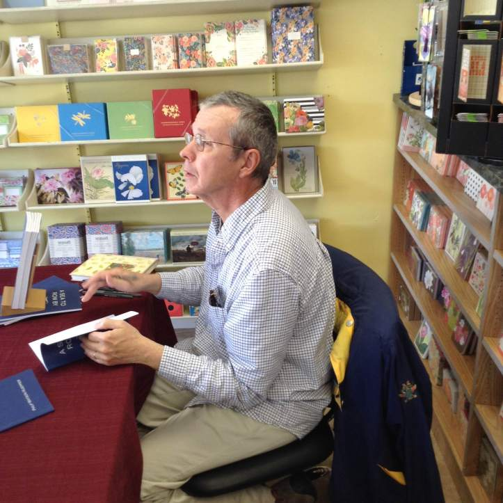 Last Saturday, HTBS's Philip Kuepper, the 'Rowing Poet', signed copies of his book 'A Sea To Row By – Poems' at Bank Square Books in downtown Mystic.