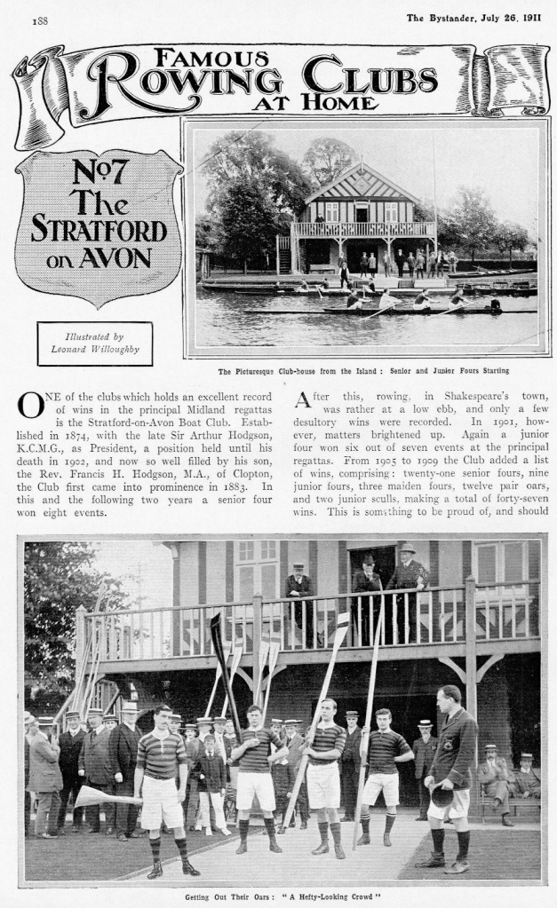 Pics 15 and 16. Stratford-on-Avon gets a visit from the Bystander Bard.