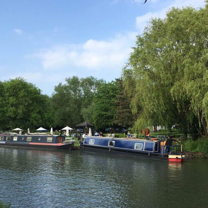 Picture Two: The Plough, a pub on the banks of the Cam and one of the best places to watch May Bumps from, or just drink in the English Countryside. Photo: CL.