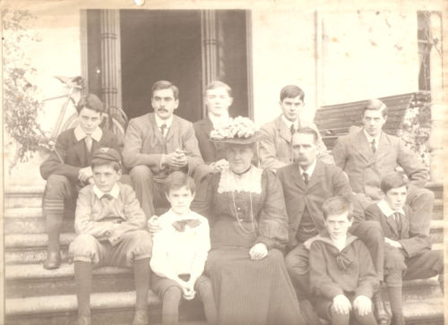 Robert William Jameson and his family - the boy wearing the cap on the left is the grandfather of the lady that sold me the medal.