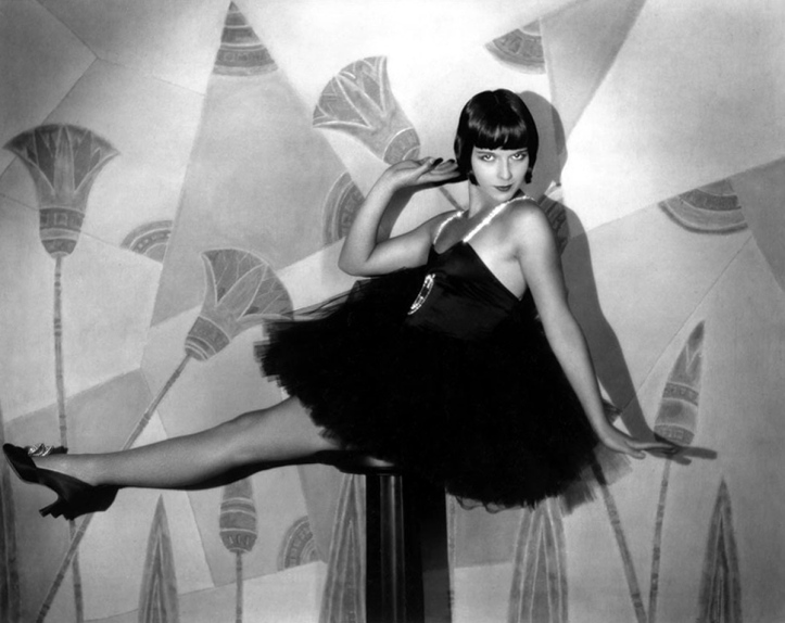 Louise Brooks - the Queen of flappers.