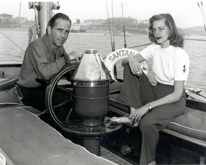 Bogey-Bacall onboard Santana