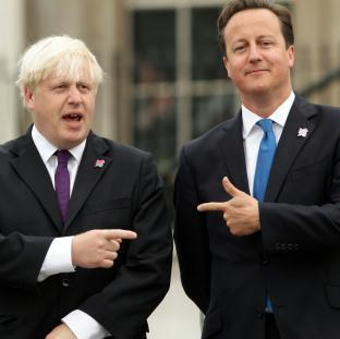 'Boris' and David Cameron