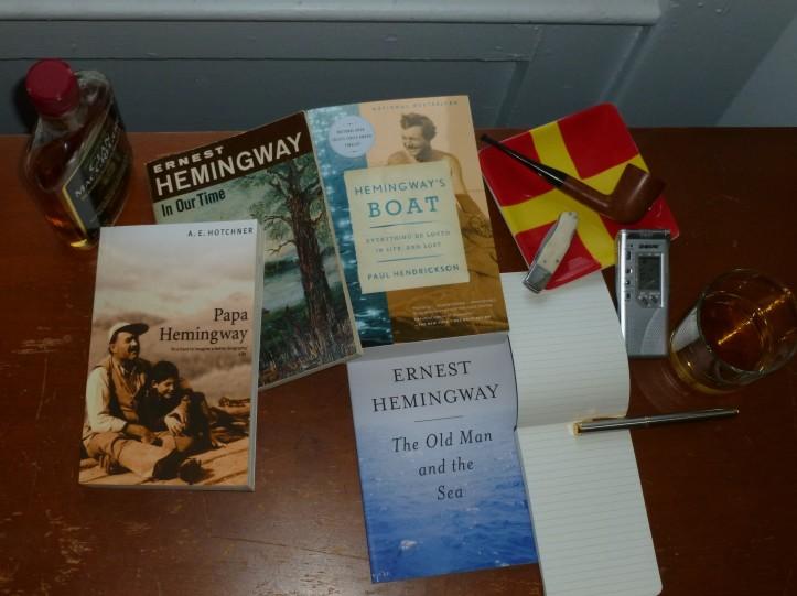 Writing about Hemingway, the Hemingway way.