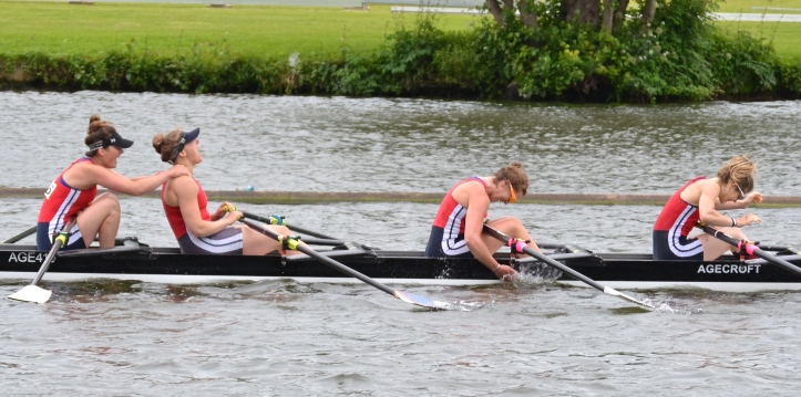 Senior Quads: Agecroft beat Edinburgh University by 2 1/2 lengths.