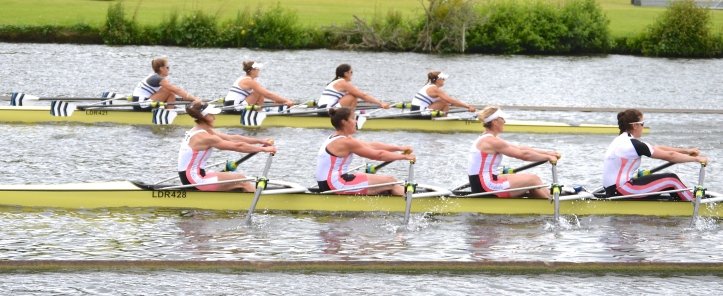 Elite Quads: Leander beat Saratoga RA, USA, by 4 feet.