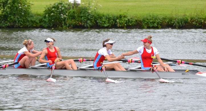 Elite Lightweight Quads: Wallingford beat ASR Nereus, Netherlands, by 1 1/2 lengths.