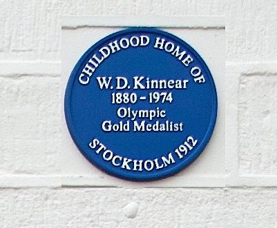 The Kinnear plaque, unveiled in 2012.