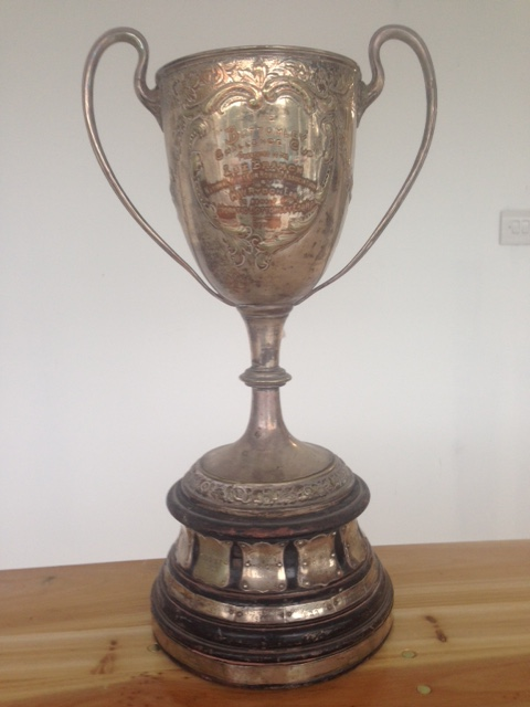 The Bottomley Cup. Photo courtesy of Orhan Kephalas.