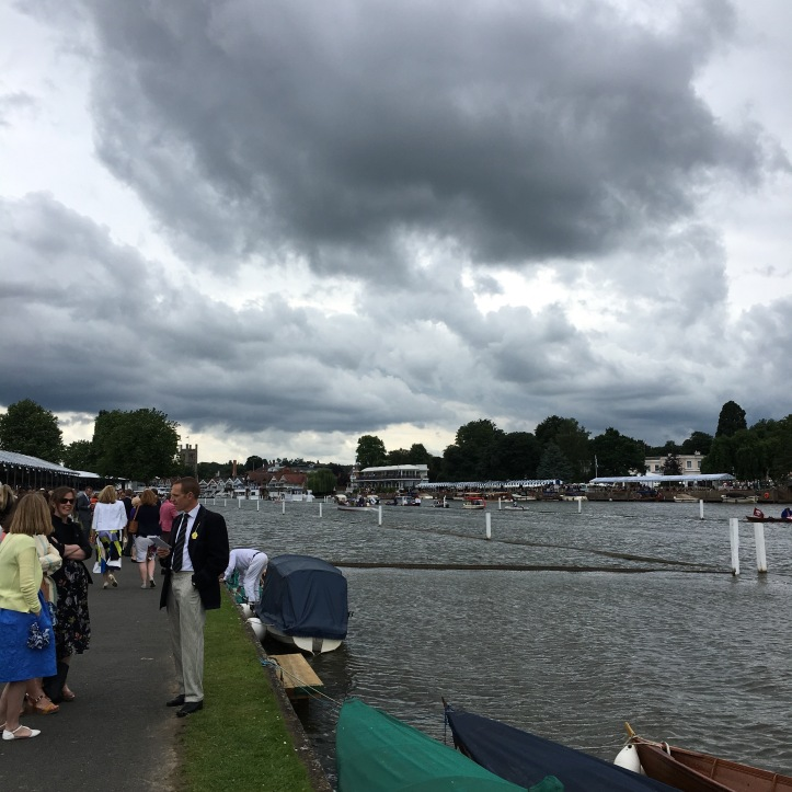 Four seasons in a day seems to be the norm at Henley.
