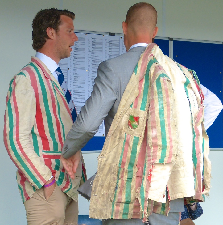 Fine examples of the inherited blazers so beloved of Dutch students.