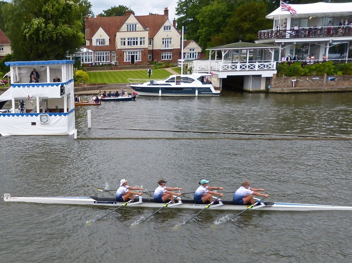 Princess Grace Challenge Cup (Women's Open Quads): Saratoga Rowing Association, USA, (pictured) beat Schuykill Navy, USA, by 5 lengths.