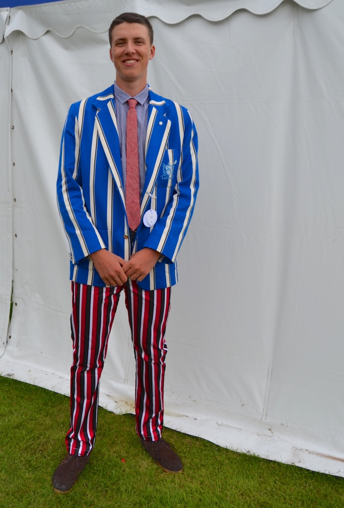 Either Zac has forgotten to change out of his pyjamas or he has rowed for both Latymer School and Thames Rowing Club.