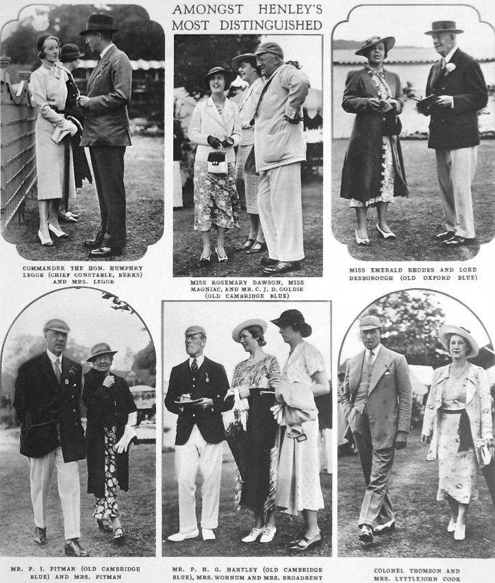 Distinguished visitors in 1937 (click to enlarge).