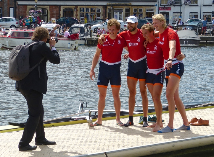 Smiles from the winning Hollandia crew, next stop Rio.