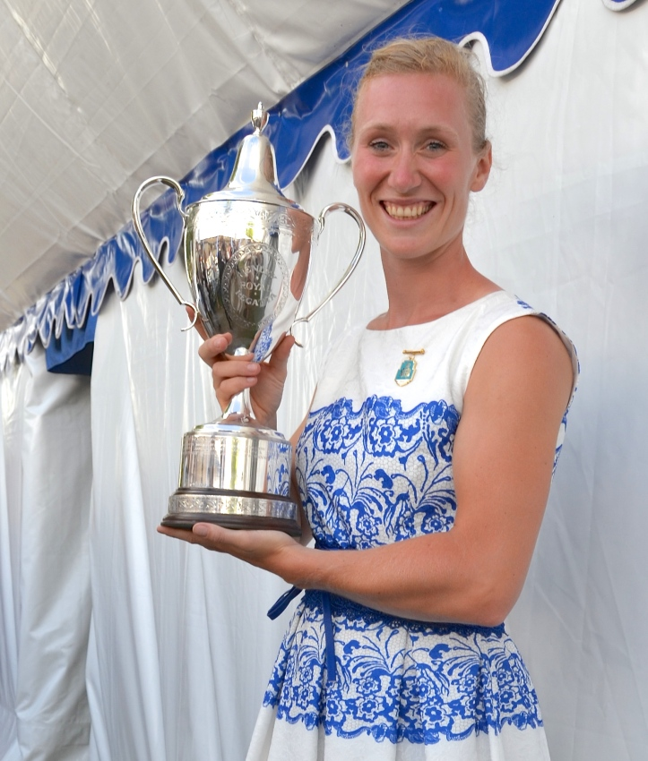One third of the trophies won by the Dutch at Henley 2016.