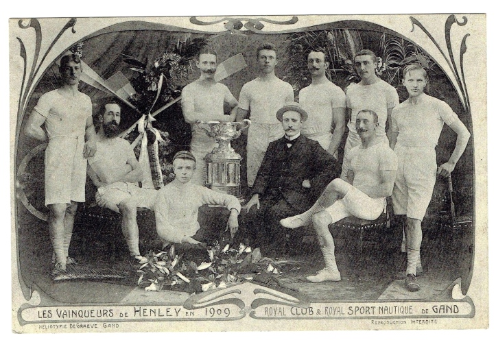 The Belgian winners of the Grand in 1909.