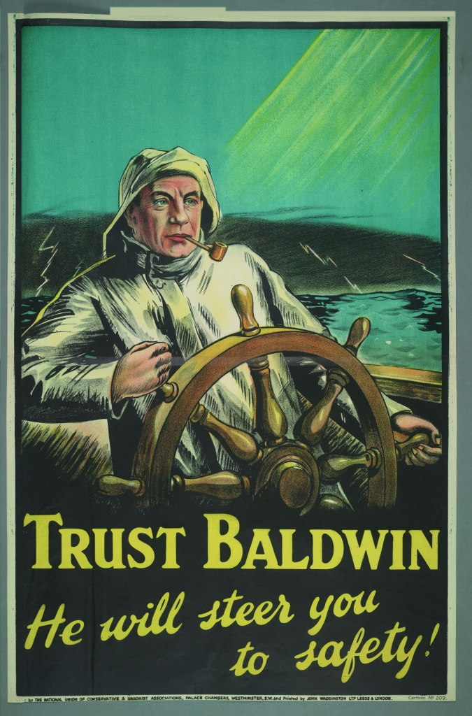 'Trust Baldwin'. In an age of deference, many people did.