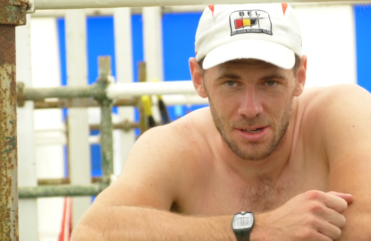 Back in the boat tent, a recovering Obreno is perhaps considering the possibility of a medal at the upcoming Olympics.