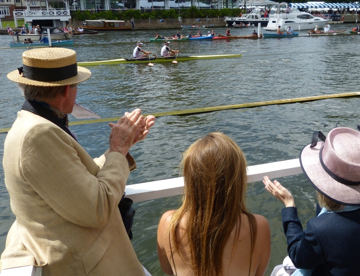 Nick Middleton (Bow) and Jack Beaumont (Stroke) add to Leander's laurels. 'Fatsculler' Daniel Spring wrote: 'The Leander boys seemingly don't know how to lose at Henley, as I understand it, Middleton has won 21 straight races and Beaumont hasn't lost since the Fawley in 2010!'