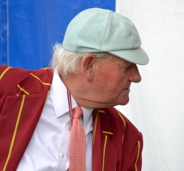 The legendary Donald Legget, who has been involved with Cambridge coaching since 1968. He gets upset if his name is misspelled: 'It's two gins and one tonic!'
