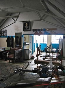 Training Facilities in the EMRC boat house.