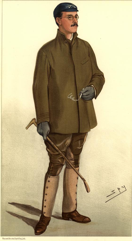 Douglas McLean, pictured in Vanity Fair in 1895.