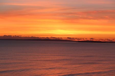 orange-sky-over-the-sea