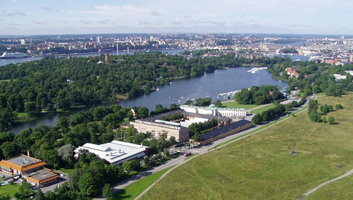 A modern picture of the Djurgårdsbrunnsviken looking from the start towards the finish (which is out of sight). Picture: Wikipedia.