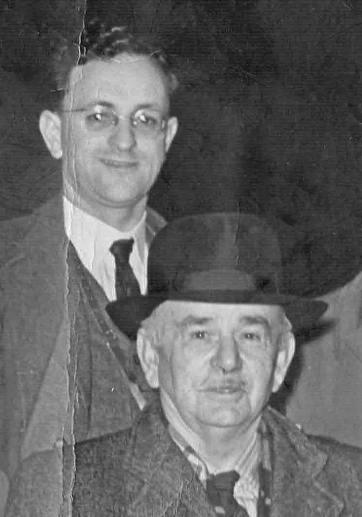 1955. Top: Daniel's father, Frederick John Ridley Walker, a 'Craft Owning Freeman' (not apprentice served but the owner of commercial craft registered with the Port of London). He became a member of the Company in 1941. Below: Daniel's grandfather, Frederick Ernest Walker, a Journeyman Freeman (qualified to work the river). Bound: 1905. Master: Frederick William Burwood, West Ham. Freedom: 1910.