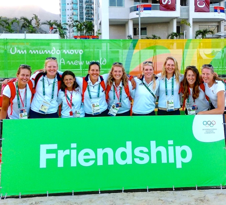 @zoedetoledo posted on 31 July. The GB women's cox wrote: 'Great friends know how weird you are, but still choose to be seen with you in public'.